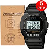 [5-Pack] For Casio DW-5600 /DW5600 Watch Screen...