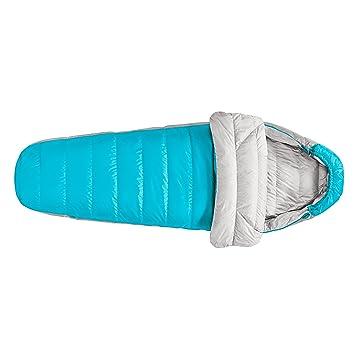 Sierra diseños de la mujer Eleanor Plus 20 Degree saco de dormir, Unisex, Hawaiian Ocean/Sleet Grey, talla única: Amazon.es: Deportes y aire libre
