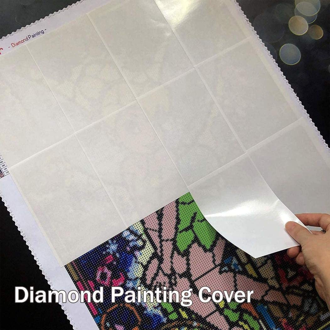 YYFQ 5D Diamond Painting Cover double 50pcs sided release paper Diamond Painting Replacement paper Tools and Accessories