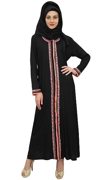 Bimba abaya islámico ropa de sport de Burqa mujeres Maxi vestido con el hijab: Amazon.es: Ropa y accesorios