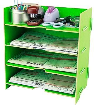 Menu Life A5 Tamaño del archivo de escritorio Carta Bandejas Archivo Escritorio Gabinete de almacenamiento Caja
