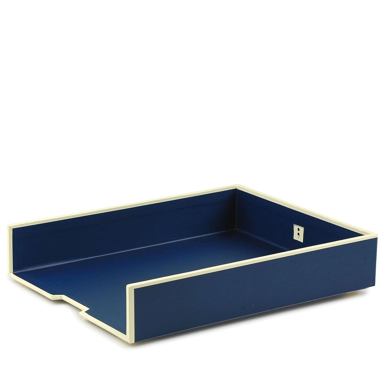 Portacarte da ufficio A4 blu marina +++ Sistema di gestione per l'ufficio e la casa +++ qualità originale Semikolon LEUCHTTURM1917 33103