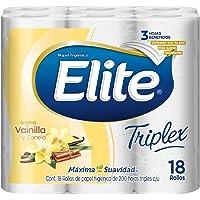 Elite Triplex Papel Higiénico Triple Hoja 18 Rollos