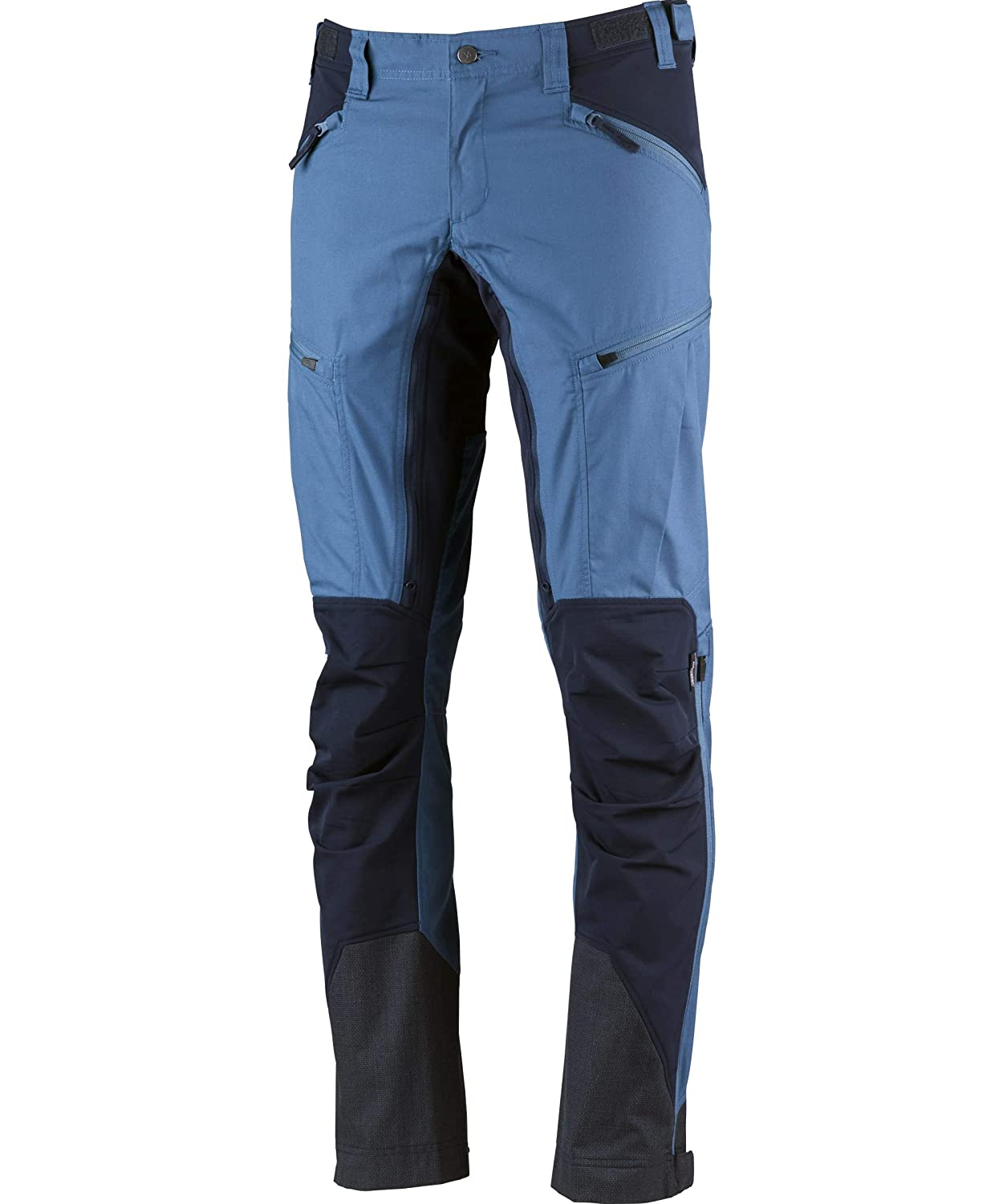 Petrol Deep bluee 50-long Lundhags Makke hiking pants