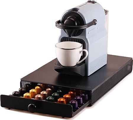 EVER RICH ® Soporte para cápsulas de café Nespresso (mango redondo MESH): Amazon.es: Hogar