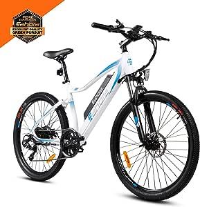 Amazon.com : Eahora 26 Inch XC100 Electric Mountain Bike