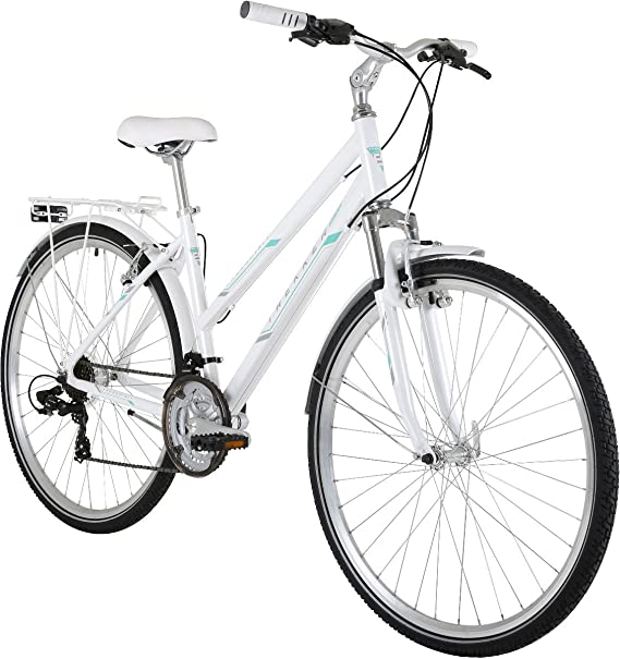 Freespirit Trekker Plus - Bicicleta híbrida para Mujer, tamaño 48 ...
