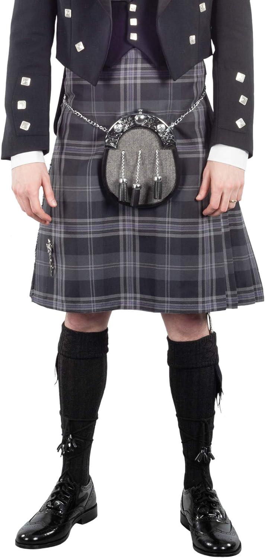 laine Kilt Highland Traditionnel Écossais Hommes Qualité Premium Professionnel 8 Yd environ 7.32 m