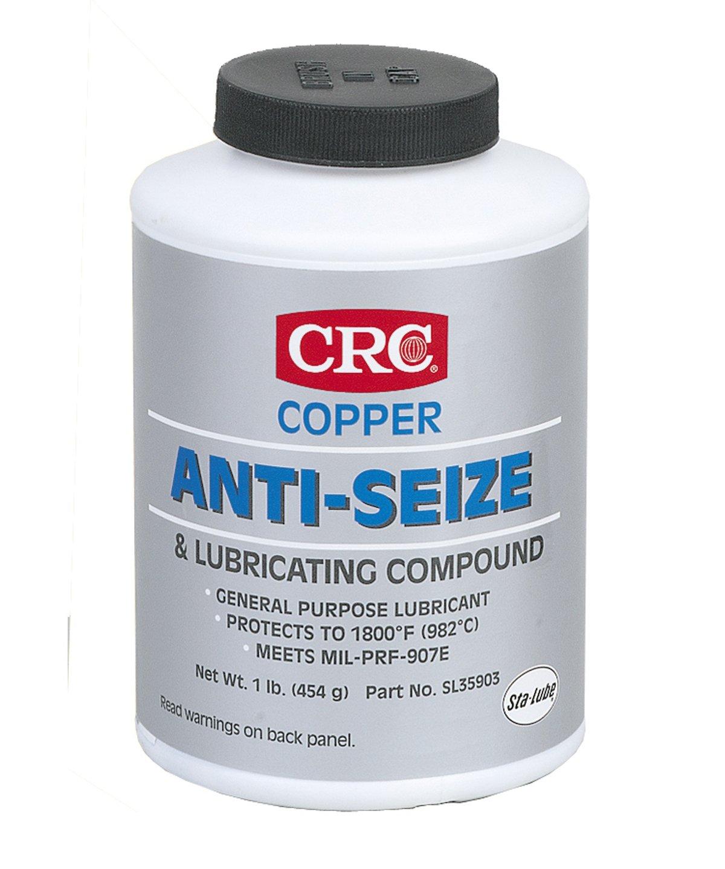 CRC SL35903 Copper Anti-Seize Lubricating Compound - 16 wt. oz. by CRC