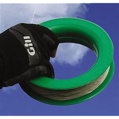 "Shanti Kites 7"" Fast Winding Plastic Hoop Spool with 80-lb Braided Dacron Line: Toys & Games"