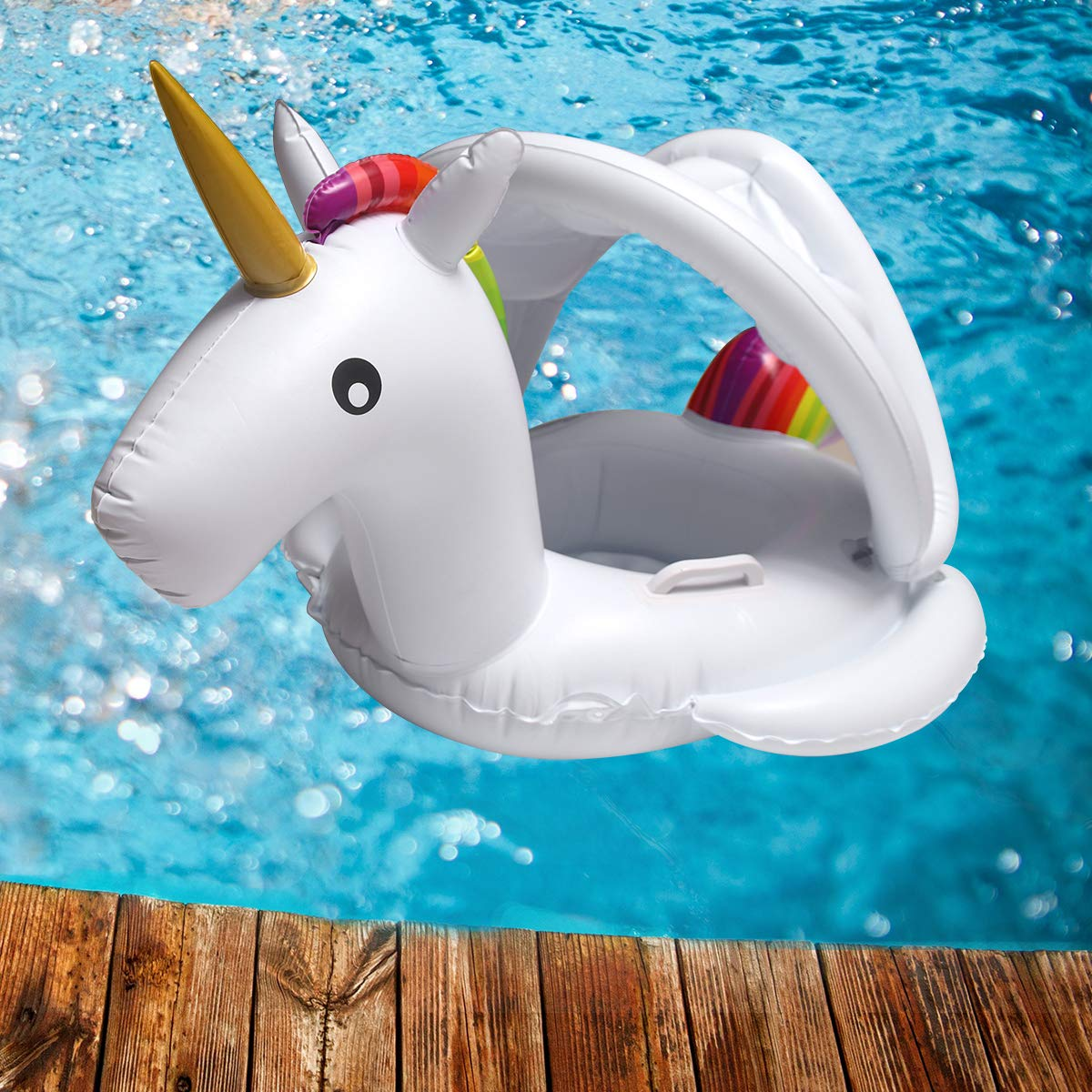 Amazon.com: Viyor Shop - Flotador de piscina para bebé con ...