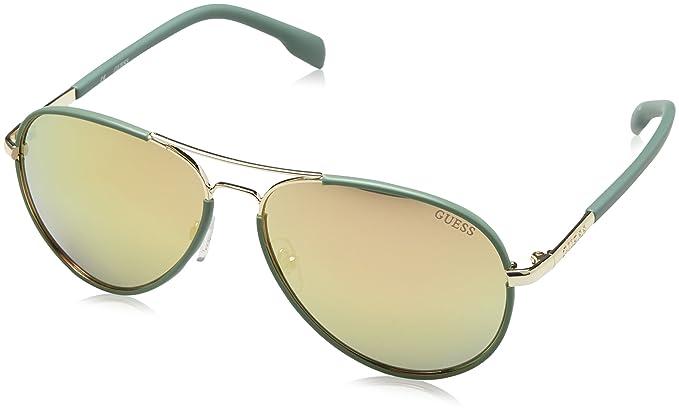 GUESS Guf0261-32G59, Gafas de Sol para Mujer, Dorado, 59: Amazon.es: Ropa y accesorios