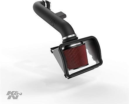 K/&N Filters Fits 2015-2018 Ford Mustang Hi-Flow Air Intake Filter