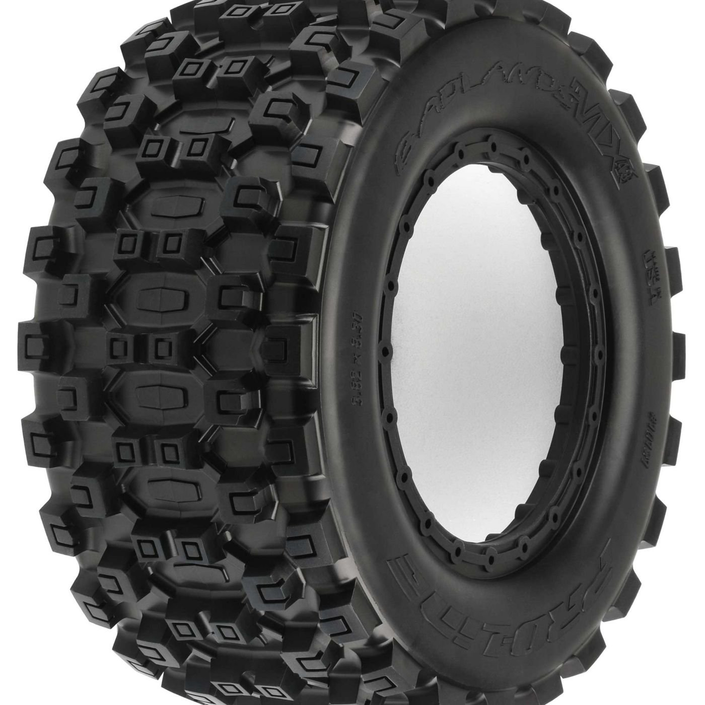 Pro-line Racing Badlands MX43 Pro-Loc Tire(2) Pro-Loc X-MAXX Wheel, PRO1013100