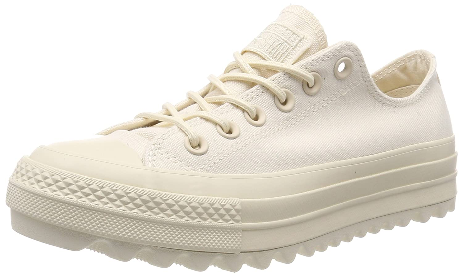 bc2b33732 Amazon.com | Converse All Star Lift Ripple Ox Womens Sneakers Natural |  Fashion Sneakers