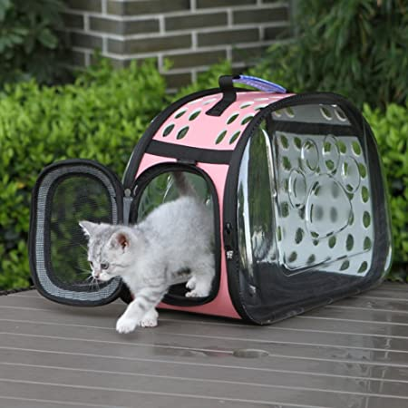 Starter Bolsa de Transporte Perros Gatos Mascotas Viaje Medidas Transportin Perro Gato 36cm*22cm*20cm Aprobadas por la Compañía Aérea Operadora (Negro): ...