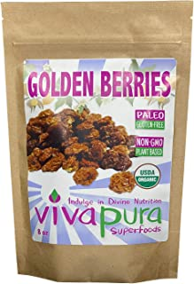 product image for Golden Berries, Raw, Organic, 8 oz, Compostable Bag