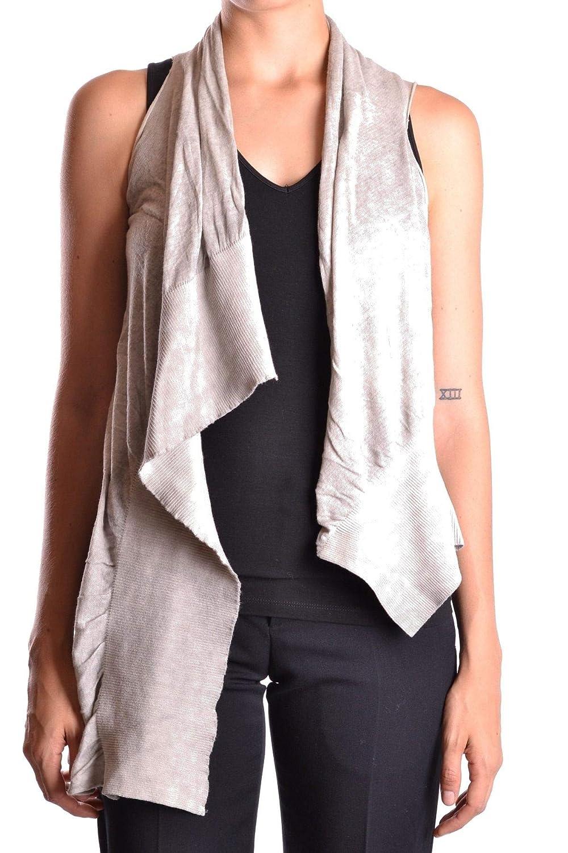 Dondup Women's MCBI18684 Grey Cotton Cardigan