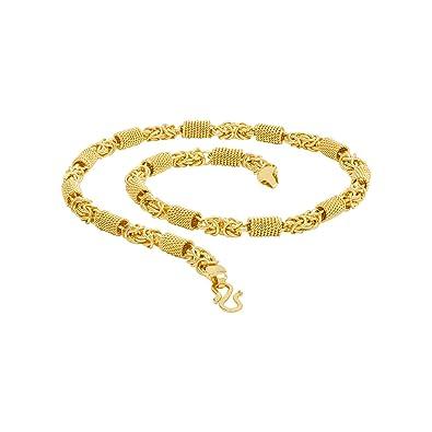 2fd923e2d925f Voylla Gold Plated Chain for Men (8907617435084)  Amazon.in  Jewellery