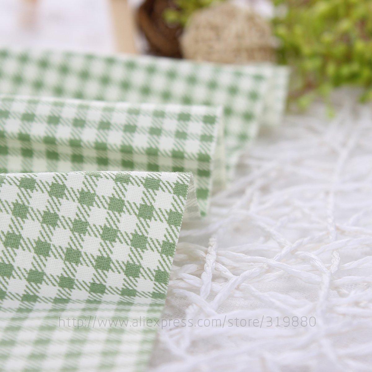TACOLI - Juego de tela de costura - Tela de edredón - verde ...