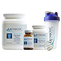 Metabolic Maintenance Restorative Cleanse Kit - 21 Day Detox with Pea Protein Meal...