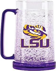 NCAA Louisiana State Tigers 16oz Crystal Freezer Mug