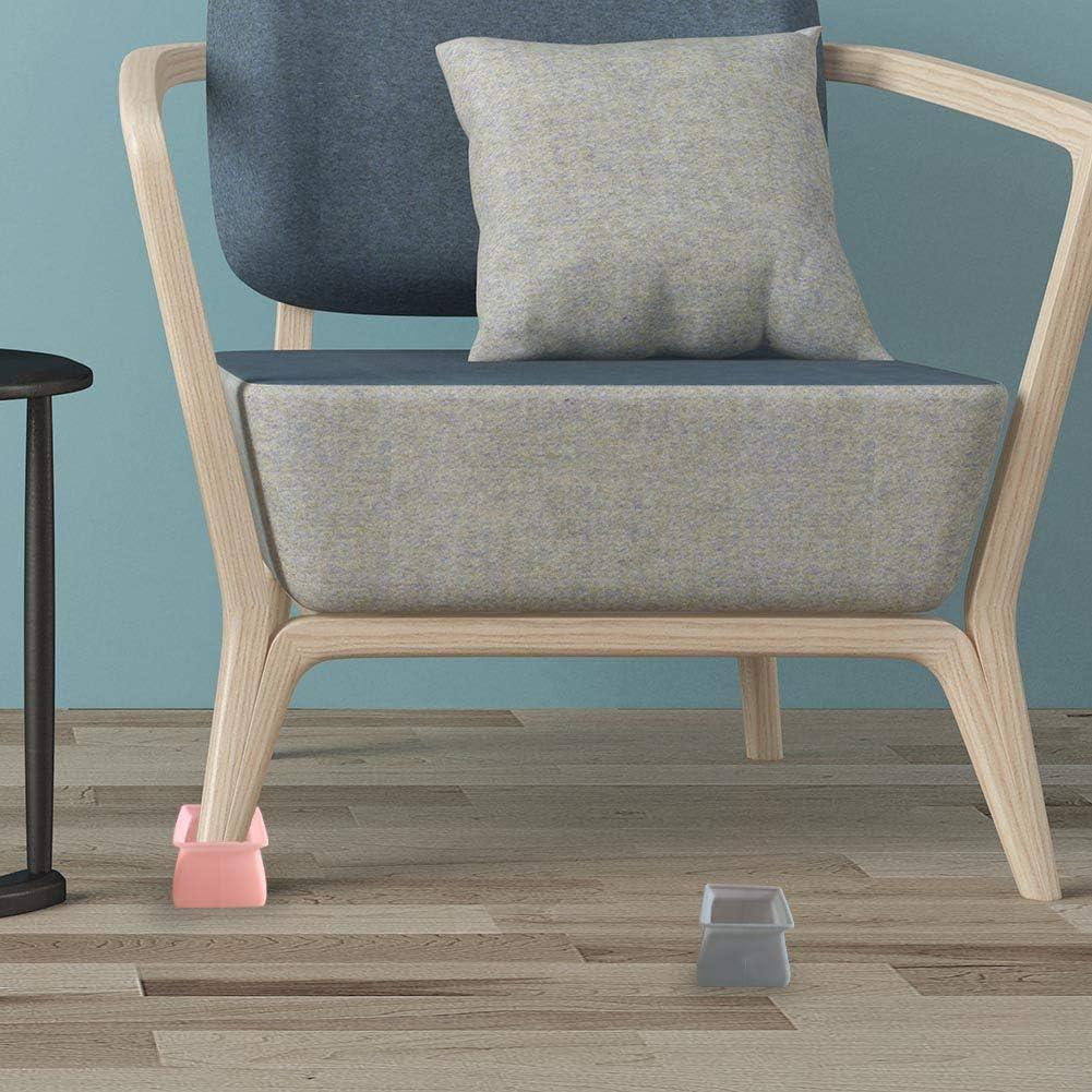 Qplcdg 8 Copri-Gambe per sedie in Silicone 8 St/ück 1#