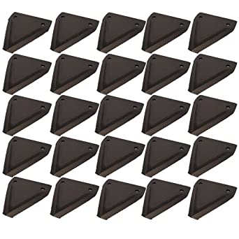 Amazon com: Sickle Mower Sections (25) for New Idea Case-IH