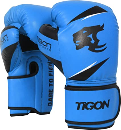 Tigon Boxing Gloves Fight Punch Bag MMA Muay Thai Sparring Kickboxing MMA 10oz