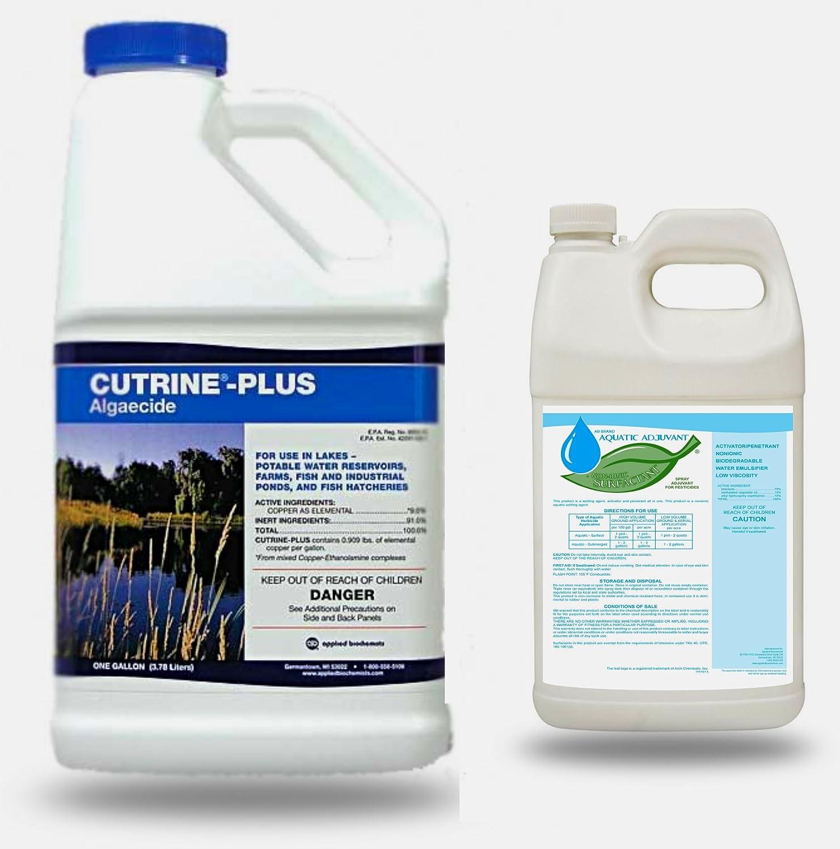 Cutrine Plus herbicida con AB acuático adyuvante non-ionic ...