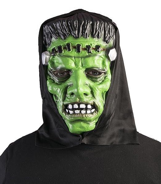 Forum Novelties Mask-Promo - Monstruo con capucha para hombre, color verde/negro, estándar: Amazon.es: Ropa y accesorios