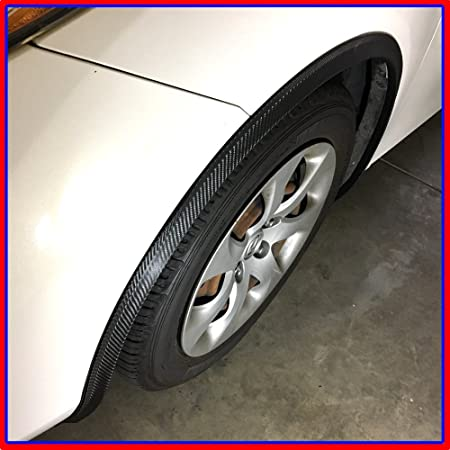 Native Gear Universal Car Wheel arch fender widening Wheels Bars Carbon fiber Fender Flare XL Size
