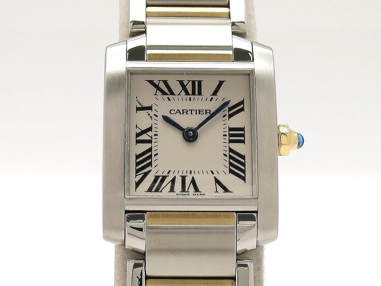 (カルティエ) Cartier 腕時計 タンクフランセーズ SMサイズ コンビモデル K18YG/SS W51007Q4 レディース 中古 B07F9KTGFP