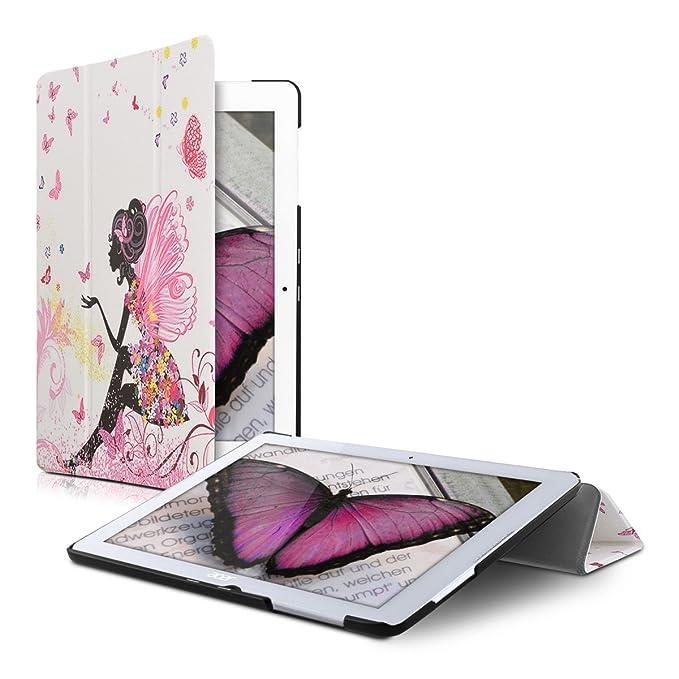 2 opinioni per kwmobile Iconia One 10 (B3-A20) Custodia- Smart Cover per Tablet in Pelle PU-