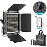 Neewer 660 LED Video Light, Dimmable Bi-Color Photography Lighting Kit with APP Intelligent Control System, Professional…