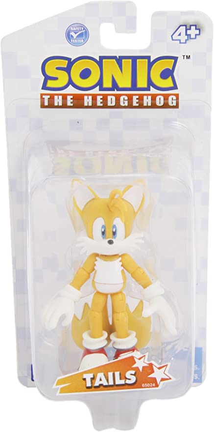 Amazon Com Sonic The Hedgehog Exclusive 3 5 Inch Action Figure Miles Tails Prower Toys Games