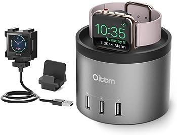 Oittm 4-Port USB Fitbit Blaze Charging Stand