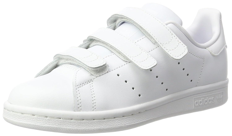 Adidas Stan Smith CF J, Zapatillas Unisex Niños 37 1/3 EU|Blanco