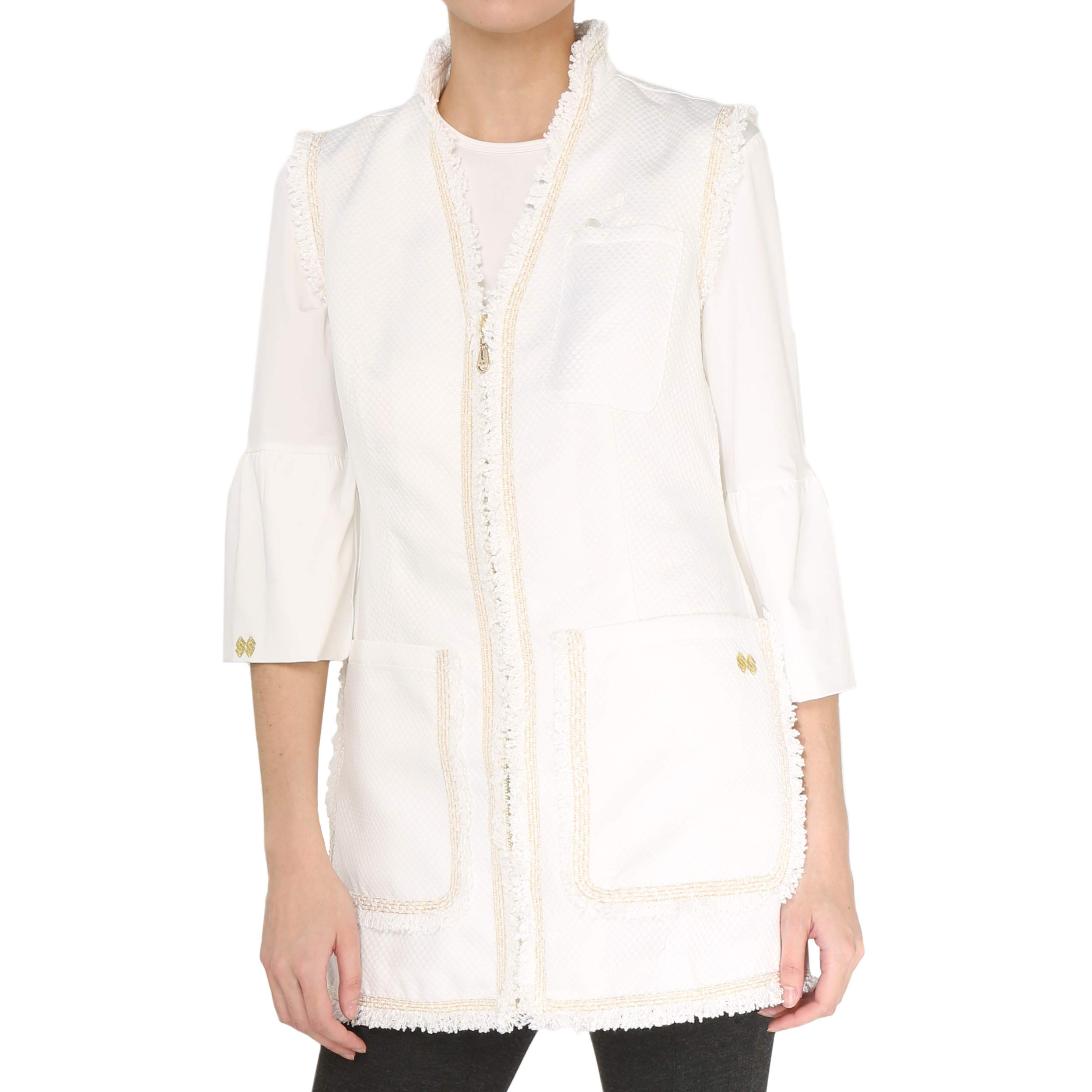 Susan Sova Women's Trendsetter Fashion Lab Coat. Best for Medical & Cosmetic Professionals (Extra Large)