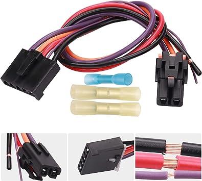 Amazon.com: HOPUT 3 Pins Blower Motor Resistor Connector, Replace Wiring  Harness for 8e5h-19e624-a, 89018778, 89019351, 1581773, Compatible with  Chevy, GMC Silverado, Tahoe, Suburban, Sierra, Yukon XL - AC: AutomotiveAmazon.com