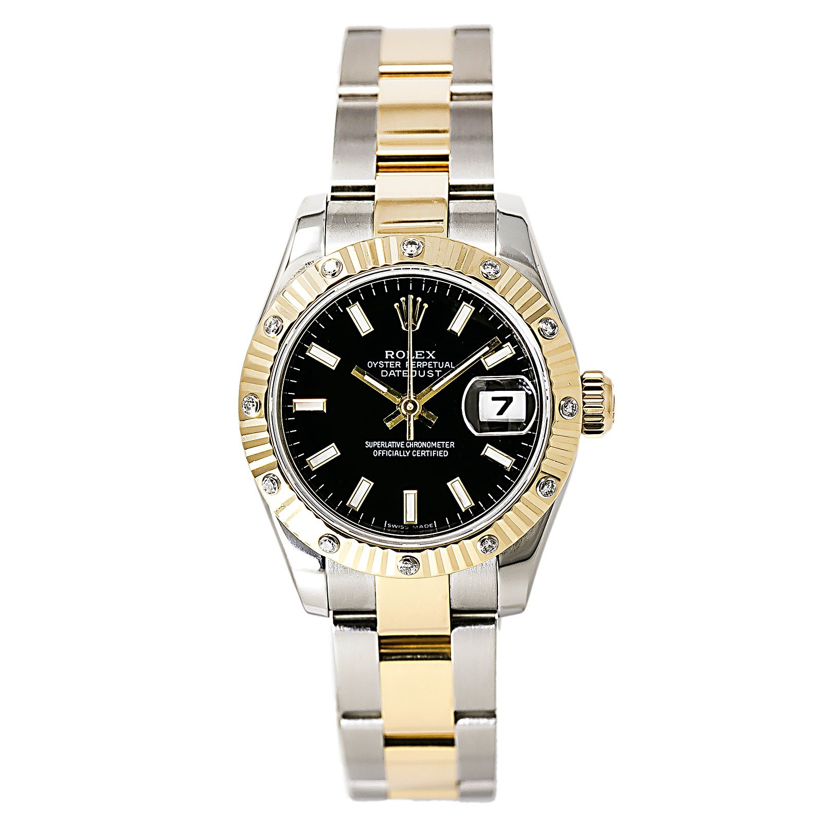 Rolex Datejust automatic-self-wind womens Watch 179313 (Certified Pre-owned)