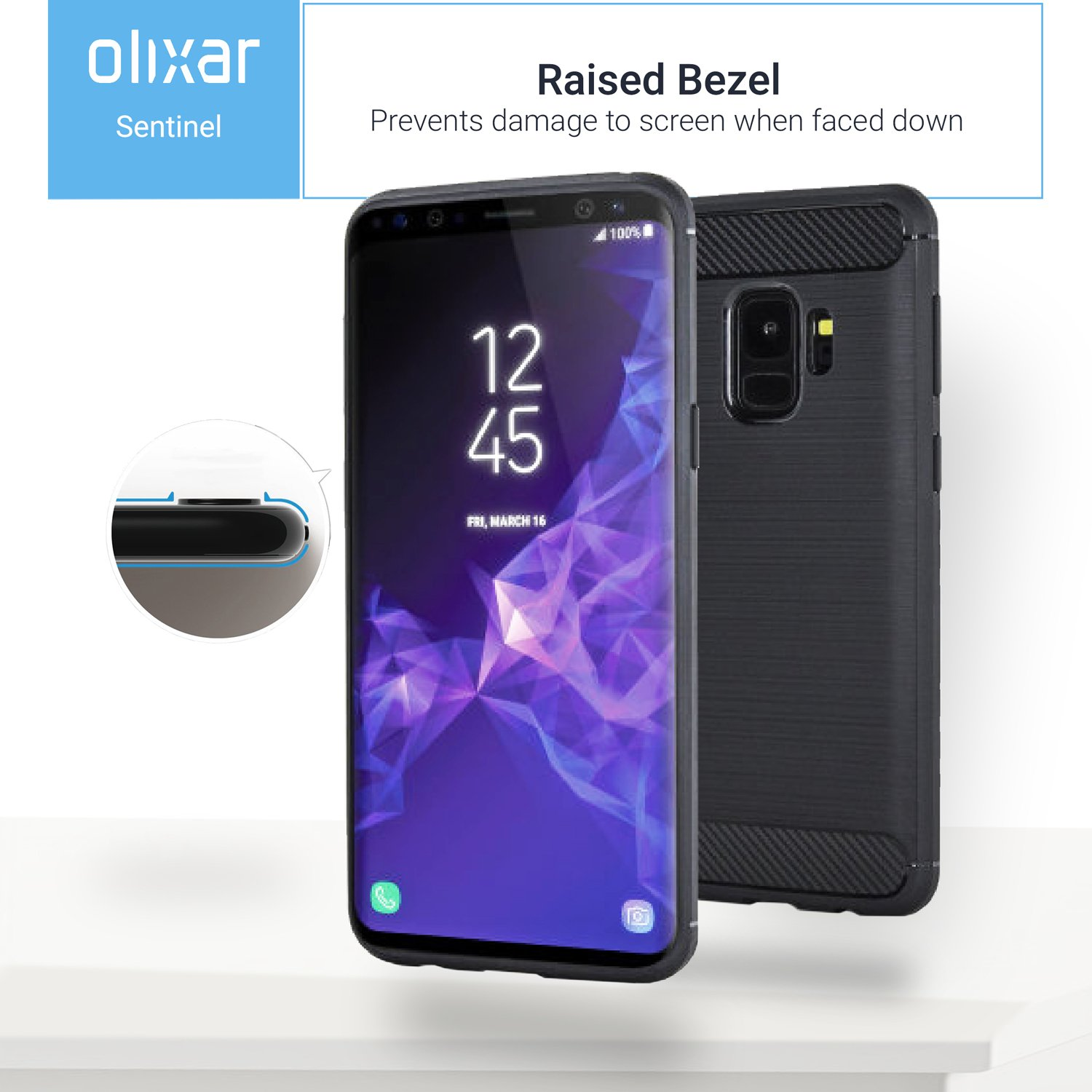 purchase cheap a5b98 92bc1 Samsung Galaxy S9 Case With Screen Protector - Olixar Sentinel - Unboxed