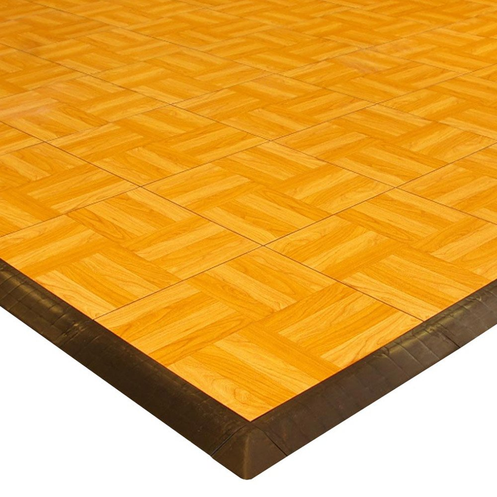 Greatmats Max Tile Laminate Floor Tile Border-without loops 4 Pack