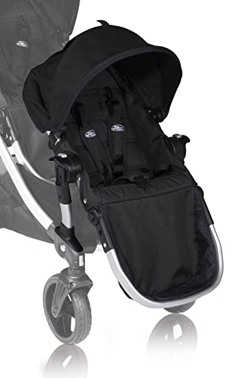 dc6e8b4f31a0 Amazon.com : Baby Jogger City Select Second Seat Kit, Onyx (Discontinued by  Manufacturer) : Jogging Strollers : Baby