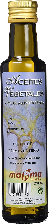 MARMA Aceite de Germen de Trigo - Botella de 250 ml