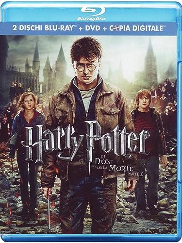 Harry Potter E I Doni Della Morte - Parte 2 2 Blu-Ray+Dvd+Copia Digitale Italia Blu-ray: Amazon.es: vari, vari, vari: Cine y Series TV