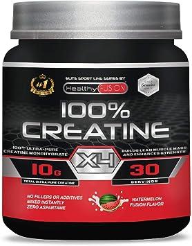 Creatina monohidrato pura microfiltrada con vitamina B6 | La única creatina 100% pura | Favorece el crecimiento muscular y la resistencia | Absorción ...