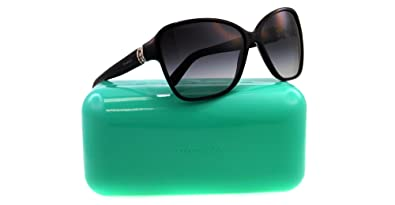 Amazon.com: Tiffany anteojos de sol TF 4070-b Negro 8001/3 C ...