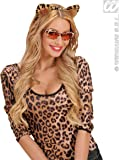 Velvet Leopard Ears Accessory for Animal Fancy Dress