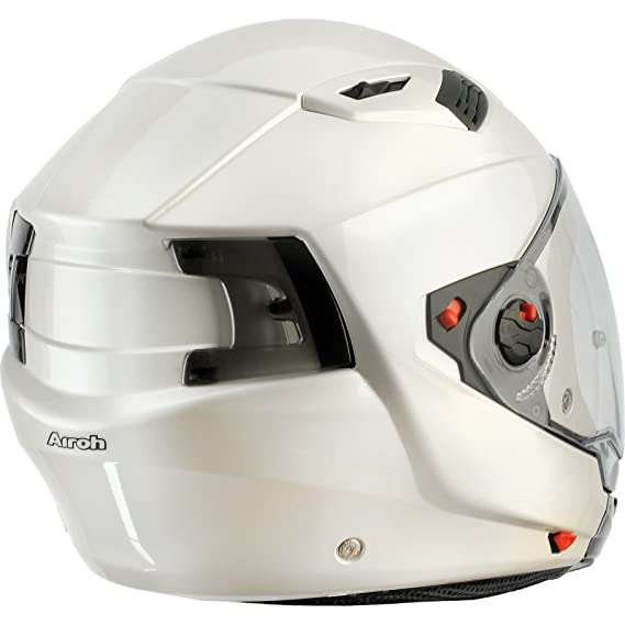 Amazon.es: Airoh Casco Crossover Executive Color con Doble Visera M Color Blanco
